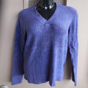 Charter Club Pullover Sweater Purple